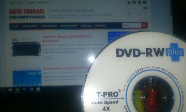 Cara burning cd dvd tanpa software windows 10