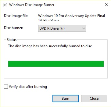 Cara Burning File ISO ke CD DVD Tanpa Software di Windows 10