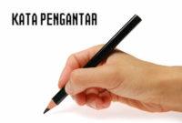 Contoh Kata Pengantar Laporan Prakerin/PKL SMK