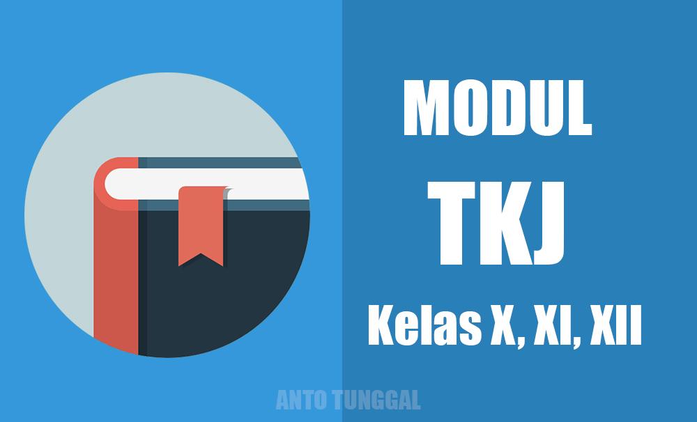 Download Modul TKJ Kelas X, XI, XII Lengkap