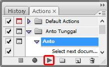 Cara Membuat dan Menggunakan Action di Photoshop