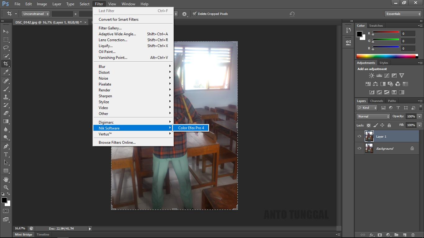 Cara Membuat Efek HDR Urbex dengan Photoshop