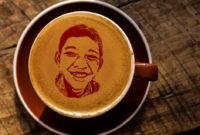 Cara Membuat Latte Art atau Foto pada Kopi dengan Photoshop