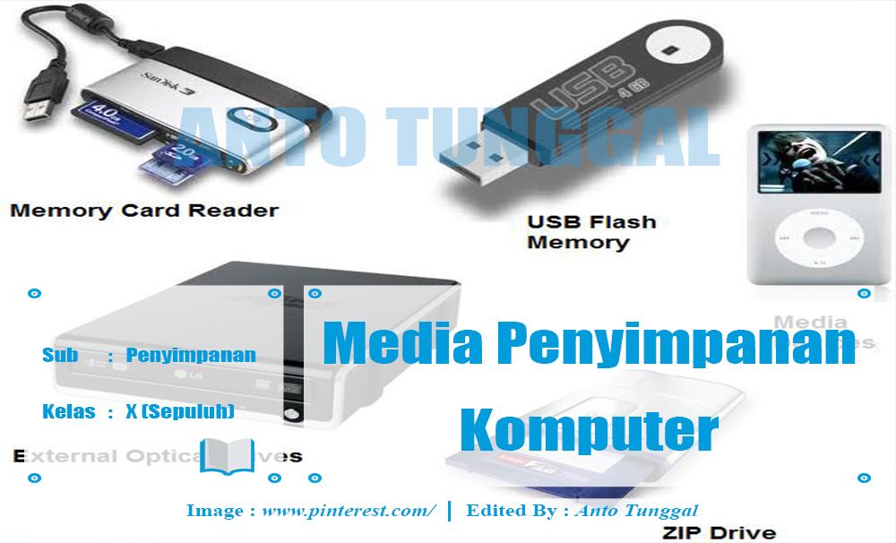 Macam Media Penyimpanan Data Komputer