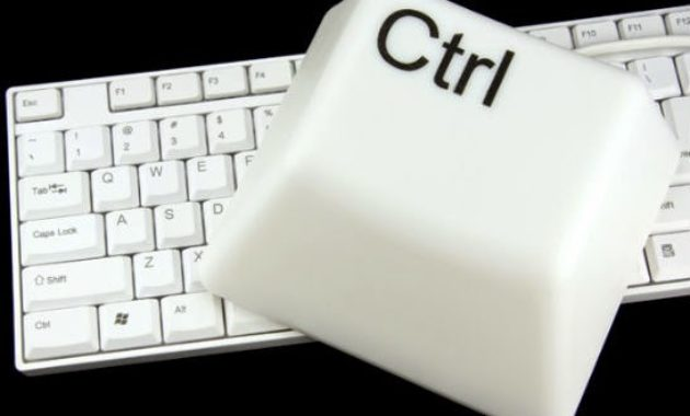 Tombol Shortcut Keyboard Ctrl A Sampai Z