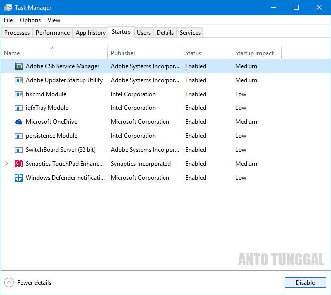 Cara Mempercepat Booting Startup Windows dengan Mudah