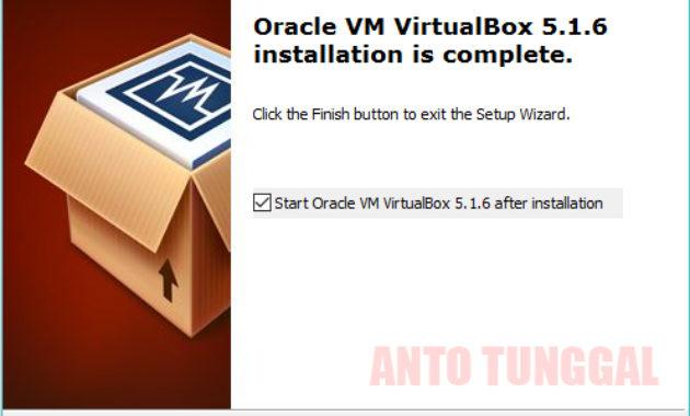 cara mudah menginstall oracle vm virtualbox