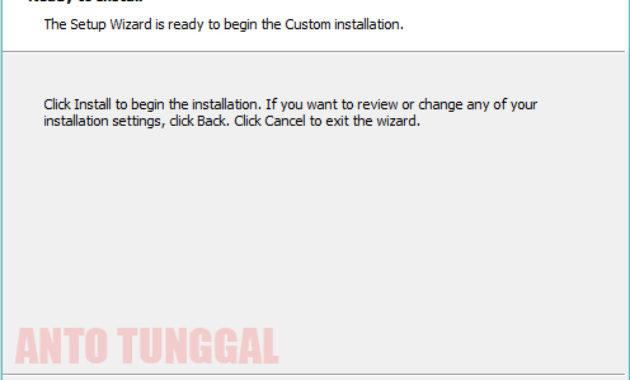 proses installasi virtualbox windows