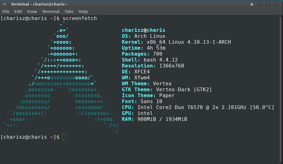 Cara Menampilkan Logo Linux di Terminal dengan Screenfetch