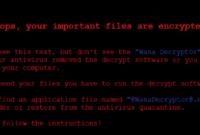 Pengertian Virus Ransomware Wanna Cry yang Berbahaya