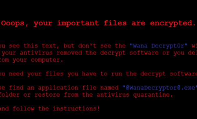 pengertian virus ransomware wanna cry