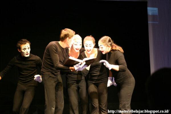 Pantomim sebagai contoh seni teater gerak