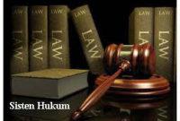Pengertian Sistem Hukum dan Peradilan Nasional Lengkap