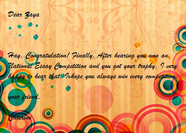 20 Contoh Greeting Card (Kartu Ucapan Selamat Bahasa Inggris)