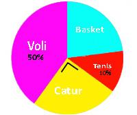 Contoh Soal Bagian Diagram Lingkaran Beserta Pembahasan