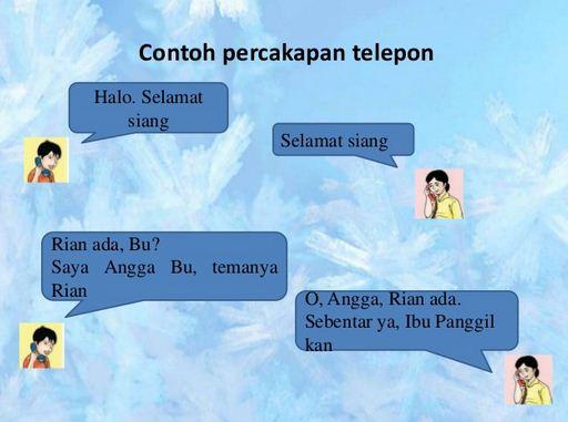 8 Contoh Percakapan Dua Orang di Telepon