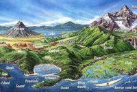 Bentuk Bentuk Muka Bumi Daratan Dan Perairan