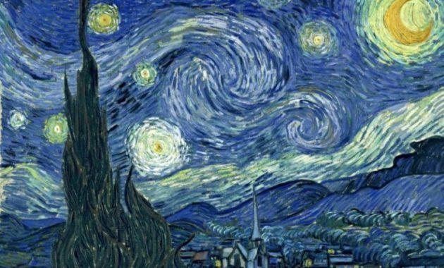 Contoh Lukisan Van Gogh