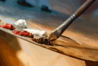 Pengertian, Teknik, Unsur dan Contoh Seni Rupa Dua Dimensi