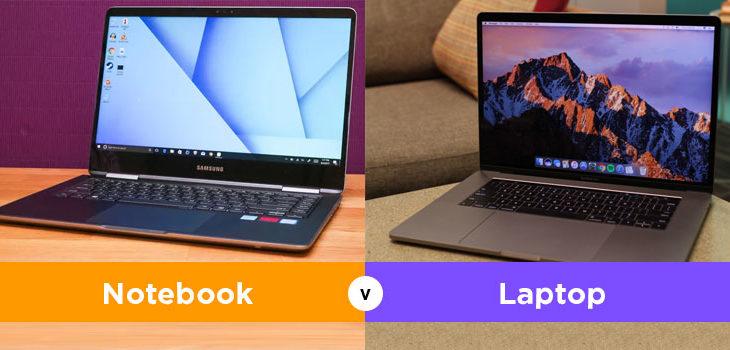 8 Perbedaan Laptop dan Notebook yang Harus Diketahui