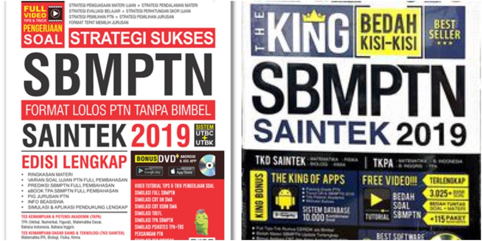 Pembahasan Soal SBMPTN Saintek 2019 (TKD dan TKPA)
