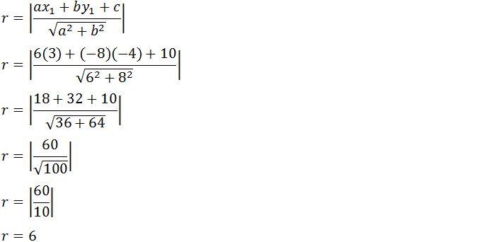 Soal Soal Persamaan Lingkaran Beserta Jawabannya