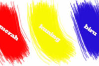 Macam Macam Warna (Primer, Sekunder, Intermediate, Tersier, dan Kuarter)