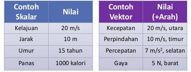 Materi Besaran Vektor (Pengertian, Rumus dan Contohnya)
