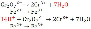 Menyetarakan Atom O dan H
