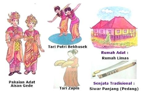 34 Nama Provinsi di Indonesia Beserta Rumah Adat, Tarian Adat, Pakaian, dan Senjata Tradisional