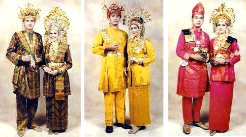 Gambar Pakaian Adat dari Riau