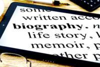 Pengertian Biografi, Struktur dan Jenis Jenisnya