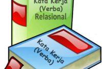 Contoh Kata Kerja Relasional Beserta Pengertian dan Ciri Ciri Lengkap