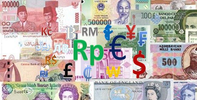 Nama Mata Uang Dunia Beserta Kode dan Konversinya