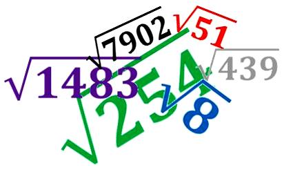 Cara Menghitung Akar Pangkat 2 dan Contoh Soalnya Lengkap