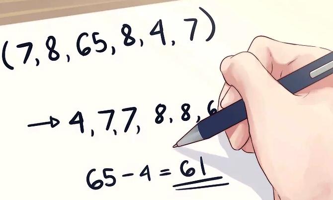 Cara Menghitung Jangkauan (Range) Beserta Contoh Soal