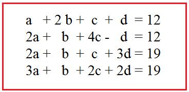 Contoh Soal Sistem Persamaan Linear 4 Variabel Beserta Cara Menghitung