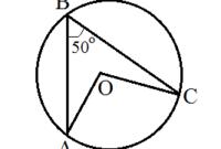 Contoh Soal Sudut Pusat Lingkaran dan Sudut Keliling